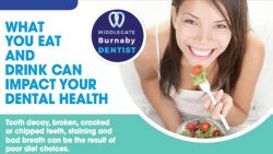 photo ad for what you eat can impact dental health in Burnaby